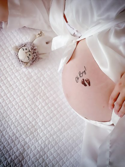 Babybauchtattoo